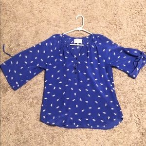 Yumi Kim Tops - Yumi Kim 100% Silk Shirt